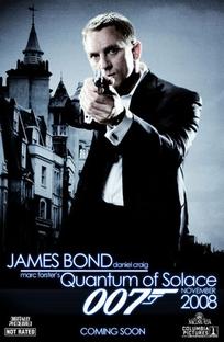 007 - Quantum of Solace - Poster / Capa / Cartaz - Oficial 9