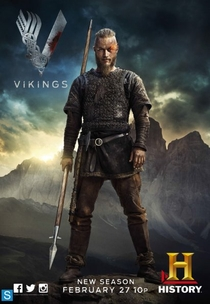 Vikings (2ª Temporada) - Poster / Capa / Cartaz - Oficial 3