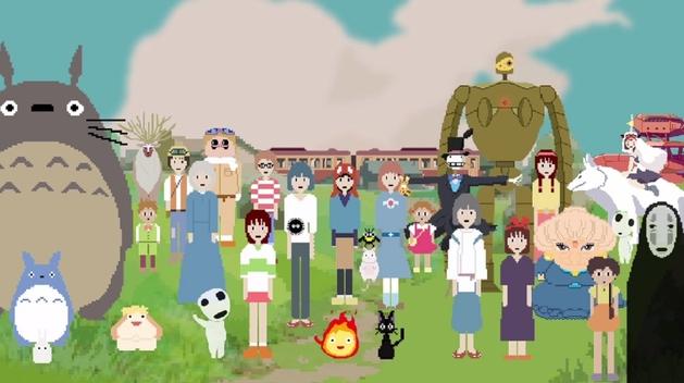 Hayao Miyazaki: tributo em 8-bit a um dos criadores do Ghibli
