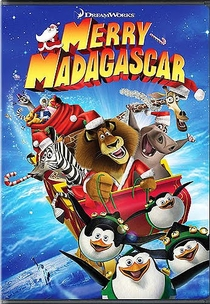 Feliz Natal Madagascar - Poster / Capa / Cartaz - Oficial 1