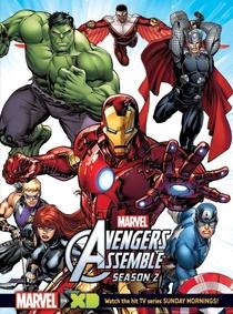 Os Vingadores Unidos (2ª Temporada) - Poster / Capa / Cartaz - Oficial 1