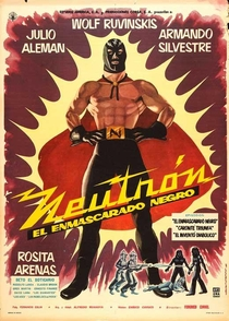 Neutron : O Mascarado Negro - Poster / Capa / Cartaz - Oficial 1