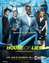 House of Lies (1ª Temporada) - Poster / Capa / Cartaz - Oficial 1