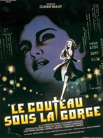 Le Couteau sous La Gorge - Poster / Capa / Cartaz - Oficial 1