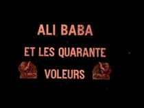Ali Baba et les quarante voleurs - Poster / Capa / Cartaz - Oficial 1