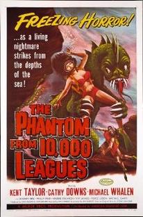 The Phantom from 10,000 Leagues - Poster / Capa / Cartaz - Oficial 1