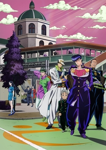 JoJo's Bizarre Adventure: Diamond is Unbreakable (3ª Temporada) - Poster / Capa / Cartaz - Oficial 1