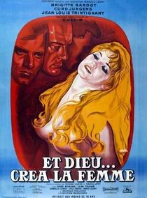E Deus Criou a Mulher - Poster / Capa / Cartaz - Oficial 2