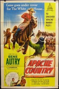 Terra de Apache - Poster / Capa / Cartaz - Oficial 1