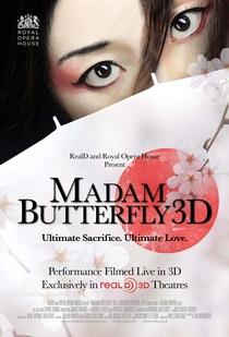 Madam Butterfly 3D - Poster / Capa / Cartaz - Oficial 1