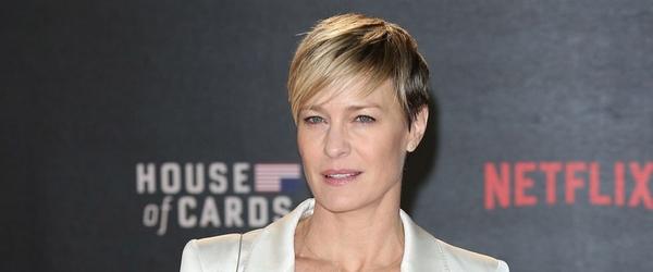 """House of Cards """"chegou muito perto de ser cancelada"""" revela Robin Wright - Cinéfilos Anônimos"""