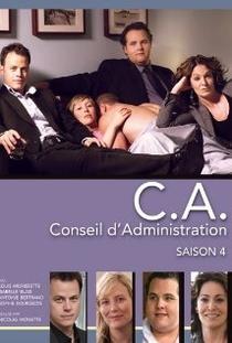 C.A. (1ª Temporada)  - Poster / Capa / Cartaz - Oficial 1