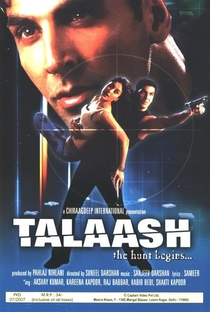 Talaash: The Hunt Begins... - Poster / Capa / Cartaz - Oficial 4