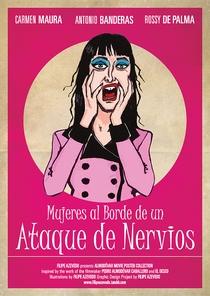 Mulheres à Beira de um Ataque de Nervos - Poster / Capa / Cartaz - Oficial 6
