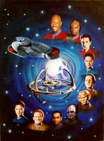 Jornada nas Estrelas: Deep Space Nine (1ª Temporada) - Poster / Capa / Cartaz - Oficial 4