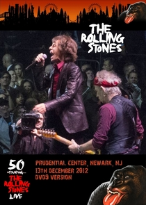Rolling Stones - Live at the Prudential Center (Dec 13th, 2012) - Poster / Capa / Cartaz - Oficial 1