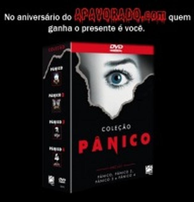 Promoção de Aniversário: Concorra a um Box da Quadrilogia'Pânico'