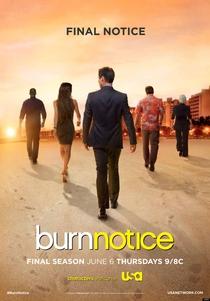 Burn Notice (7ª Temporada) - Poster / Capa / Cartaz - Oficial 1