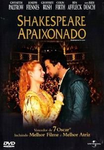 Shakespeare Apaixonado - Poster / Capa / Cartaz - Oficial 2