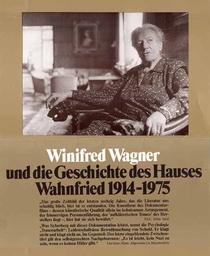 Winifred Wagner e a história da casa de Wahnfried de 1914 a 1975 - Poster / Capa / Cartaz - Oficial 2