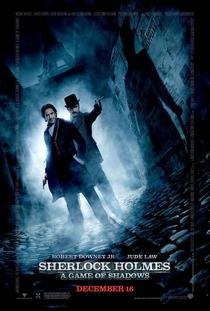 Sherlock Holmes: O Jogo de Sombras - Poster / Capa / Cartaz - Oficial 1
