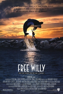 Free Willy - Poster / Capa / Cartaz - Oficial 1