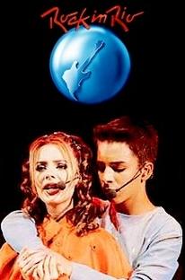 Sandy e Junior: Rock in Rio 2001 - Poster / Capa / Cartaz - Oficial 2