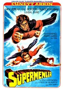 3 Supermen Against Godfather - Poster / Capa / Cartaz - Oficial 1