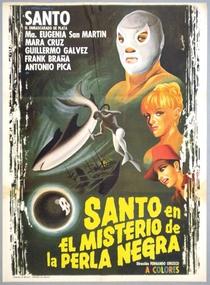 Santo e o Mistério da Pérola Negra  - Poster / Capa / Cartaz - Oficial 1