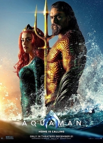 Aquaman - Poster / Capa / Cartaz - Oficial 2