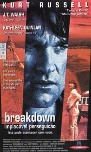 Breakdown - Implacável Perseguição - Poster / Capa / Cartaz - Oficial 1