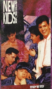 New Kids On The Block - Step By Step - Poster / Capa / Cartaz - Oficial 1