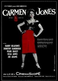 Carmen Jones - Poster / Capa / Cartaz - Oficial 6