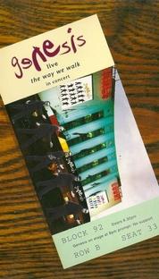 Genesis Live - The Way We Walk In Concert - Poster / Capa / Cartaz - Oficial 1