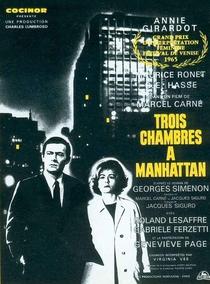 Trois chambres à Manhattan - Poster / Capa / Cartaz - Oficial 1