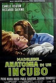 Madeleine, anatomia di un incubo - Poster / Capa / Cartaz - Oficial 1