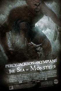 Percy Jackson e o Mar de Monstros - Poster / Capa / Cartaz - Oficial 6