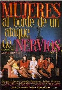 Mulheres à Beira de um Ataque de Nervos - Poster / Capa / Cartaz - Oficial 9