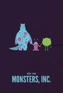 Monstros S.A. - Poster / Capa / Cartaz - Oficial 7
