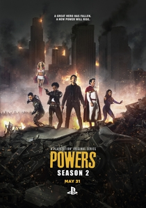 Powers (2ª Temporada) - Poster / Capa / Cartaz - Oficial 1
