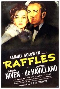 Raffles, o Ladrão Amador - Poster / Capa / Cartaz - Oficial 1