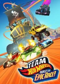 Team Hot Wheels - A Mega Corrida - Poster / Capa / Cartaz - Oficial 1