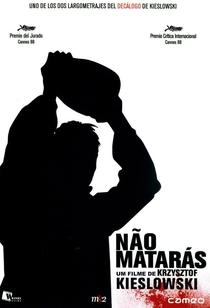 Não Matarás - Poster / Capa / Cartaz - Oficial 2