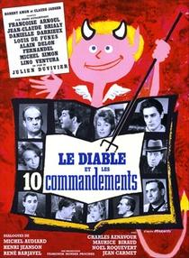 O Diabo e os Dez Mandamentos - Poster / Capa / Cartaz - Oficial 1