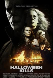 Halloween Kills: O Terror Continua - Poster / Capa / Cartaz - Oficial 2