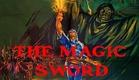 Basil Rathbone in THE MAGIC SWORD (1962)
