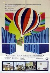 Viaje Fantástico en Globo - Poster / Capa / Cartaz - Oficial 1
