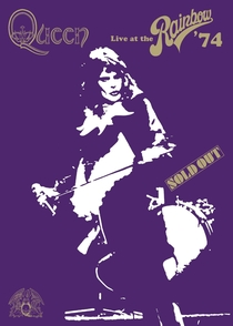 Queen - Live At The Rainbow´74 - Poster / Capa / Cartaz - Oficial 1