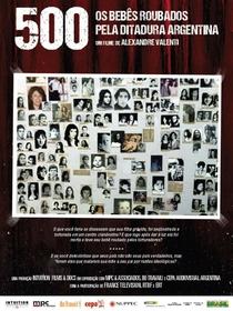 500 - Os bebês roubados pela Ditadura Argentina - Poster / Capa / Cartaz - Oficial 1