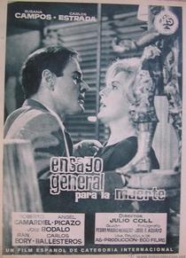 Ensayo General para la Muerte - Poster / Capa / Cartaz - Oficial 4